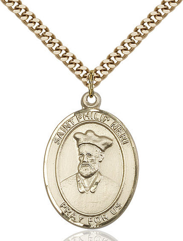 St. Philip Neri Gold Filled 1""