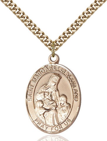 St. Margaret Of Scotland Gold Filled 1""