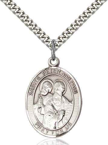 St. Peter / St. Paul Sterling Silver 1""