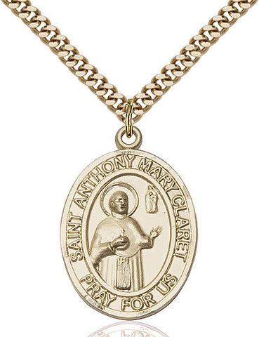 St. Anthony Mary Claret Gold Filled 1""