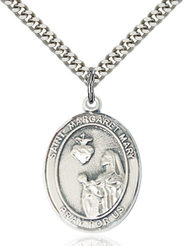 St. Margaret Mary Alacoque Sterling Silver 1""