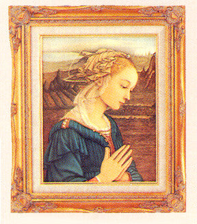 Framed Art - Virgin in Adoration