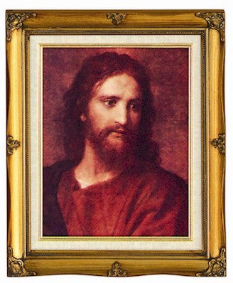 Framed Art - Christ at 33