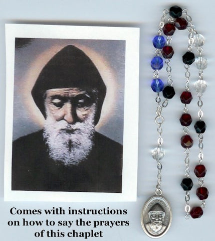 St. Charbel Rosary Chaplet - Discount Catholic Store