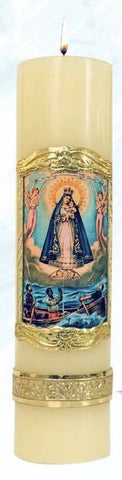 Our Lady of Charity Candle