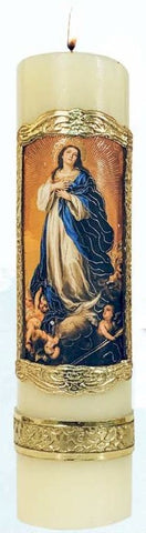 Immaculate Conception Candle