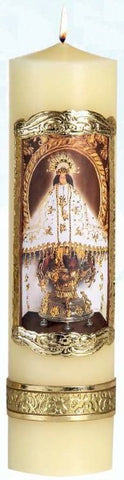 Our Lady of Juquila Candle