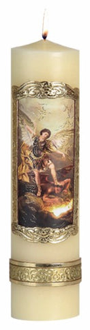 St. Michael the Archangel Candle