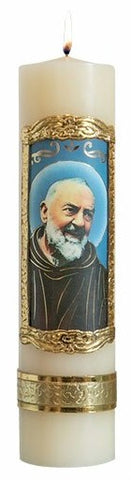 St. Padre Pio Candle