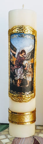 St. Raphael the Archangel Candle