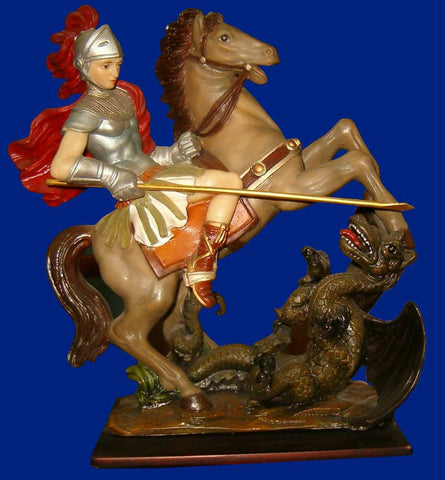 St. George Statue 12 Inches