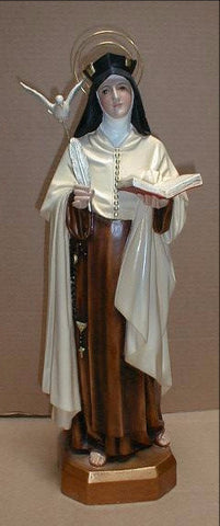 St. Teresa of Avila Statue 22 Inches
