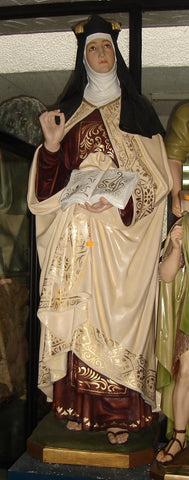 St. Teresa of Avila Statue 61 Inches