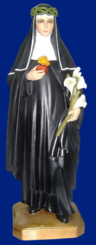 St. Catherine of Siena 23 Inch Statue