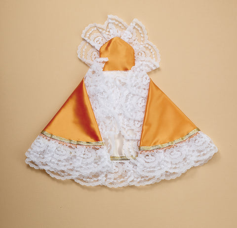 Infant of Prague Dress Gold