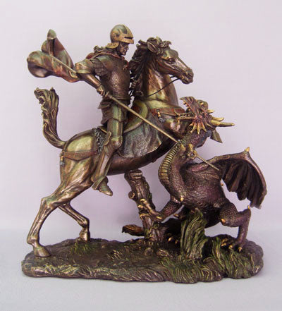 St. George 11.5 Inch Statue - Discount Catholic Store