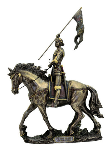 St. Joan of Arc 10 Inch Statue - Discount Catholic Store