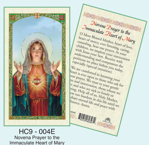 Novena Prayer to the Immaculate Heart of Mary - Discount Catholic Store