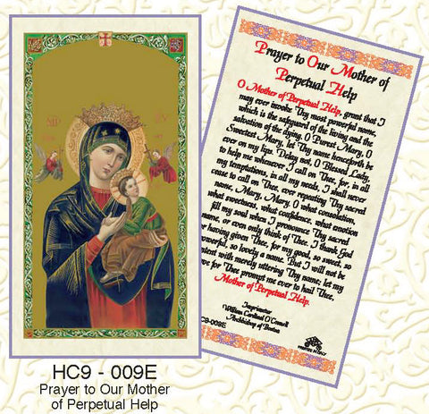 Prayer to Our Mother of Perpetual Help - Discount Catholic Store