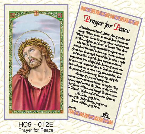 Prayer for Peace - Discount Catholic Store