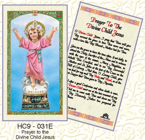 Prayer of the Divine Child Jesus - Discount Catholic Store