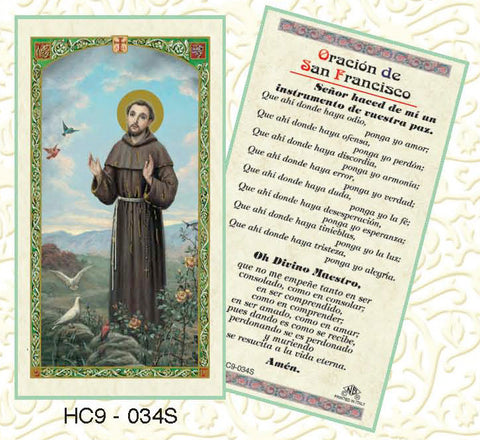 Oracion de San Francisco - Discount Catholic Store