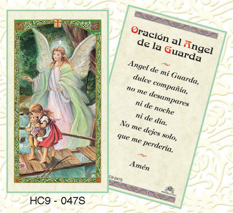 Oracion al Angel de la Guarda - Discount Catholic Store