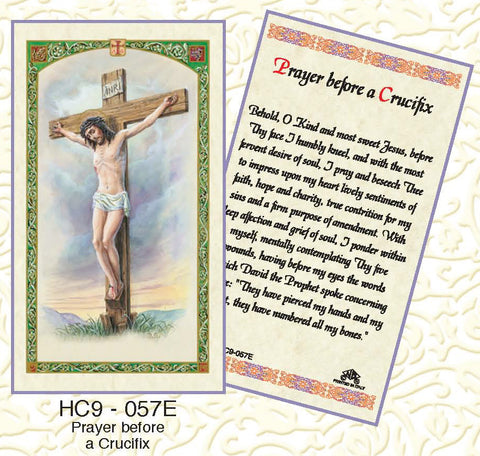 Prayer Before a Crucifix - Discount Catholic Store