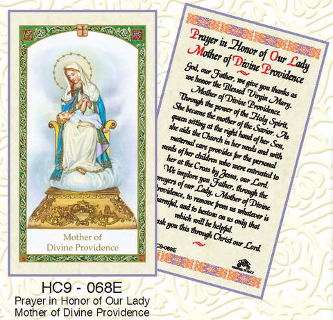 Prayer in Honor of Our Lady Mother of Divine Providence - Discount Catholic Store