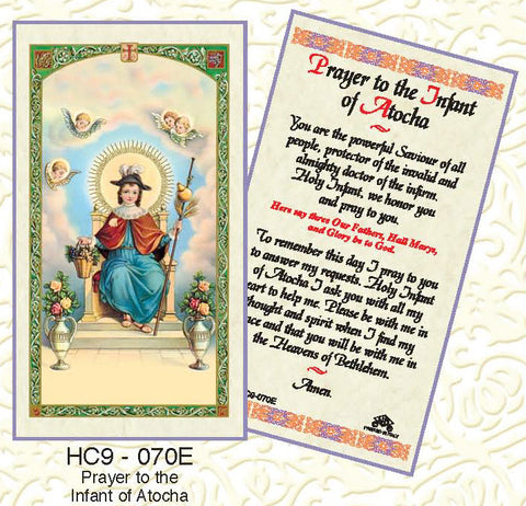 Prayer of the Infant of Atocha - Discount Catholic Store
