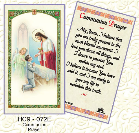 Communion Prayer - Boy - Discount Catholic Store