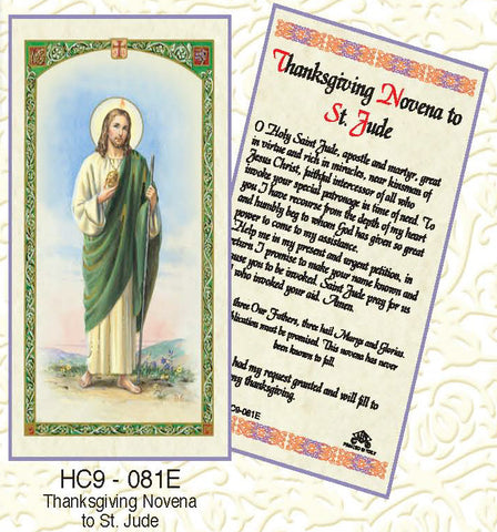 St. Jude Thanksgiving Novena - Discount Catholic Store