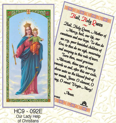 Hail Holy Queen - Our Lady Help of Christians - Discount Catholic Store