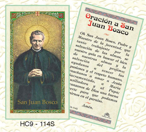Oracion a San Juan Bosco - Discount Catholic Store