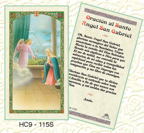 Oracion al Santo Angel san Gabriel - Discount Catholic Store