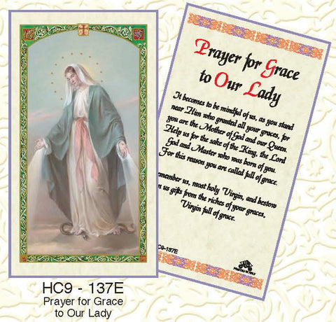 Pray for Grace to Our Lady - Discount Catholic Store