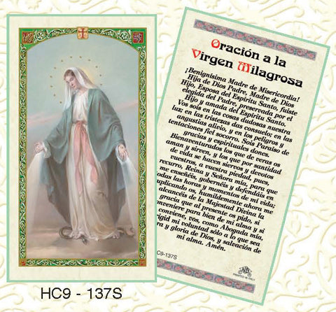 Oracion a la Virgen Milagrosa - Discount Catholic Store
