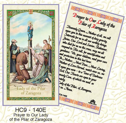 Prayer to Our Lady of the Pillar of Zaragoza - Discount Catholic Store