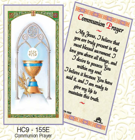Communion Prayer - Chalice - Discount Catholic Store