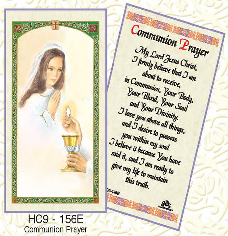 Communion Prayer - Girl Praying - Discount Catholic Store