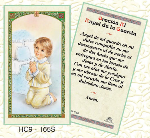 Oracion Al Angel de la Guarda -Boy - Discount Catholic Store