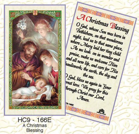 Christmas Blessing - Discount Catholic Store