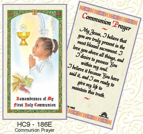 Communion Prayer - Girl - Discount Catholic Store