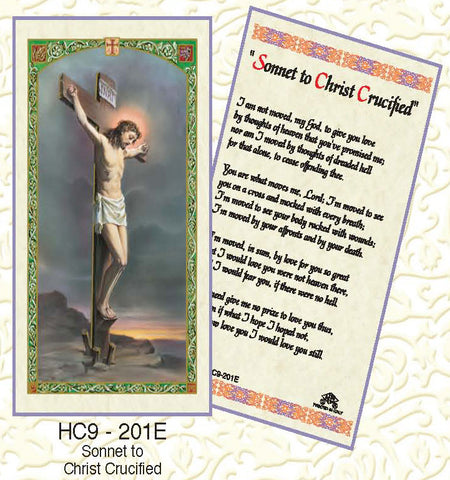 Sonnet to Christ Crucified - Discount Catholic Store