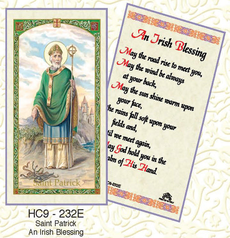 St. Patrick An Irish Blessing - Discount Catholic Store