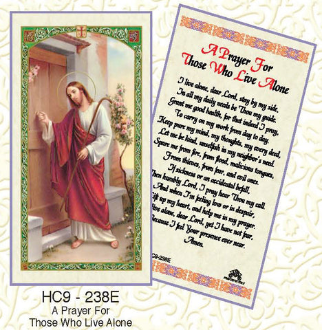 Prayer for Those Who Live Alone - Discount Catholic Store