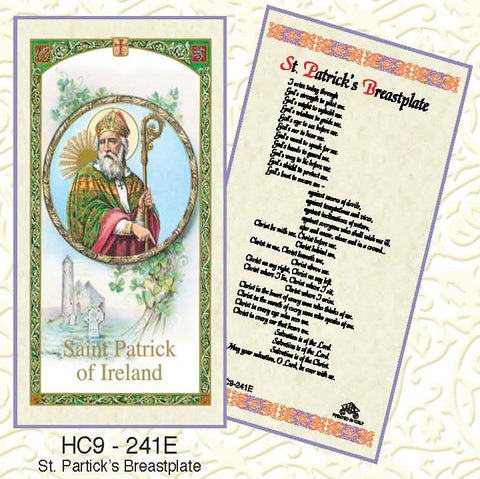 St. Patrick's Breastplate - Discount Catholic Store