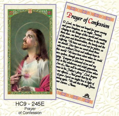 Prayer of Confession - Discount Catholic Store