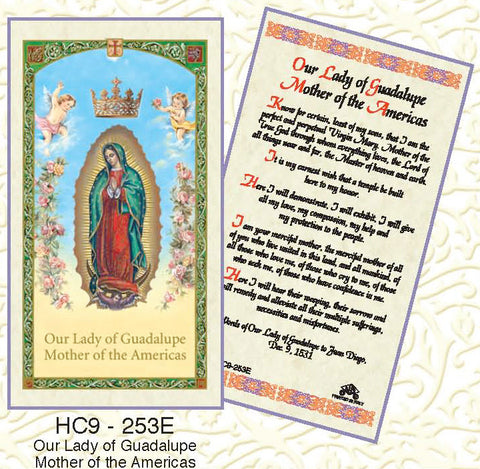 Our Lady of Guadalupe Mother of the Americas - Discount Catholic Store