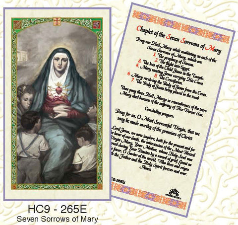 Seven Sorrows of Mary - Discount Catholic Store